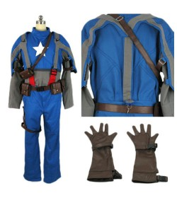 ENSEMBLE CAPTAIN AMERICA
