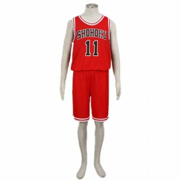 MAILLOT ROUGE BASKET SLAM DUNK