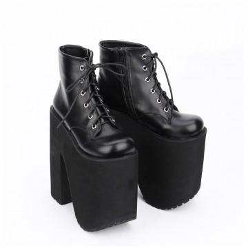 chaussure plateforme gothique pas cher