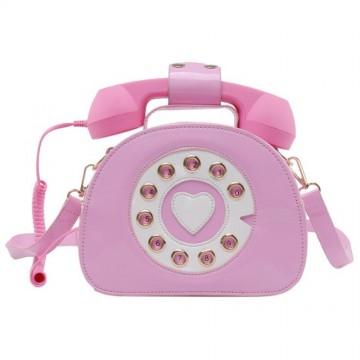 SAC BANDOULIERE PHONE ROSE