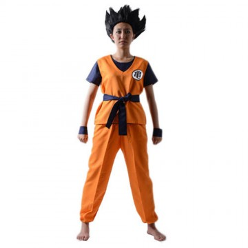 ENSEMBLE DEGUISEMENT COSPLAY GUI SON GOKU DRAGON BALL Z MIXTE
