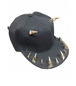 CASQUETTE MIXTE BASEBALL HIP HOP DENTS GRIFFES CLOUS