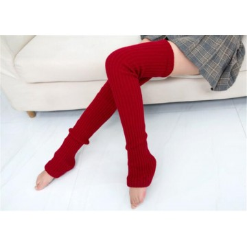 GUETRES EXTRA LONG CUISSE 80 CM ROUGE