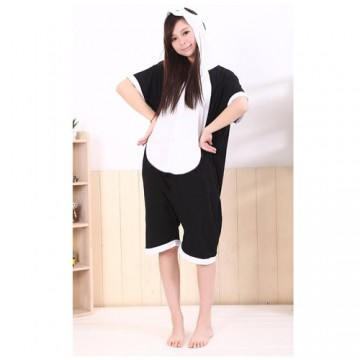 KIGURUMI PANDA COURT EN COTTON