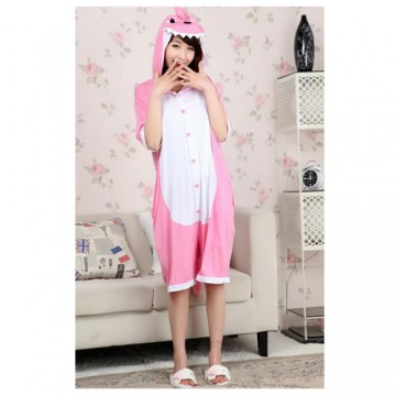 KIGURUMI COURT DRAGON ROSE EN COTON