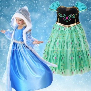 DUO ROBE ENFANT PRINCESSE ELSA