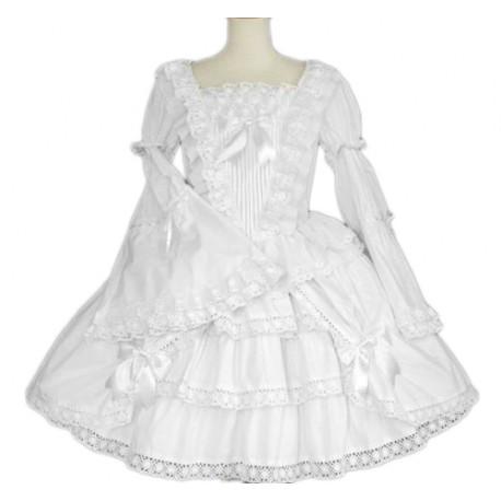 Robe Lolita Blanche Black Sugar