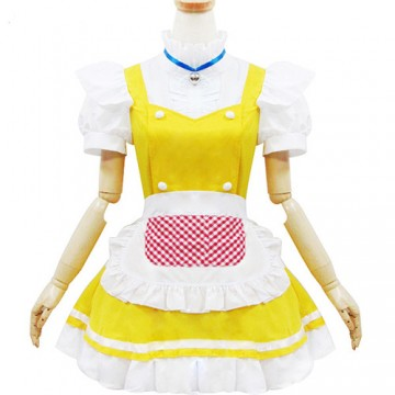 ROBE MAID JAUNE