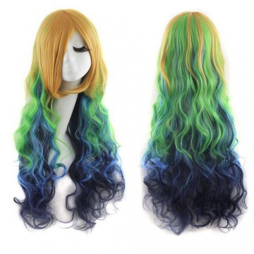 PERRUQUE COSPLAY COULEUR
