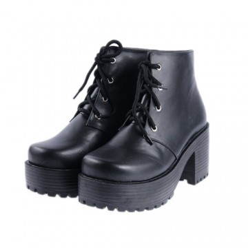 BOTTINES LOLITA NOIRS TALON 8CM