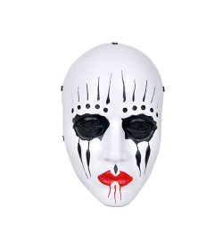 MASQUE AIRSOFT CLOWN SLIPKNOT JOEY JORDISON (BLANC)