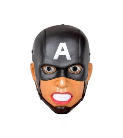 MASQUE AIRSOFT CAPITAINE AMERICA (NOIR)