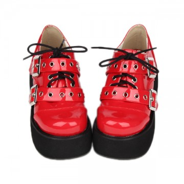 CHAUSSURES ROUGES COMPENSEES