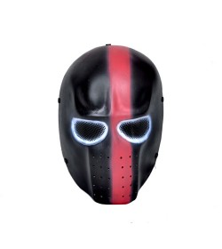 MASQUE AIRSOFT ALIEN (NOIR & ROSE)