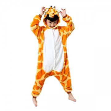 KIGURUMI GIRAFE ORANGE ENFANT
