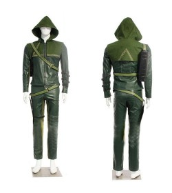 ENSEMBLE COSPLAY HOMME OLIVER QUEEN