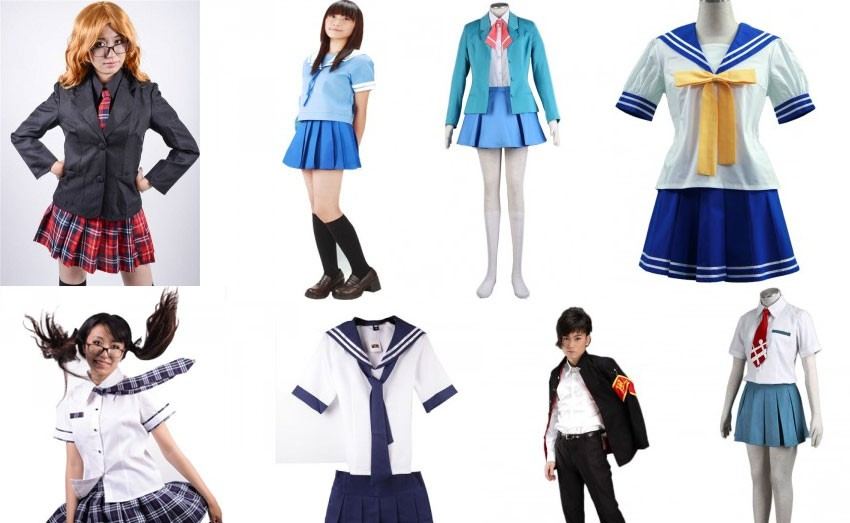 Cosplay uniforme japonais