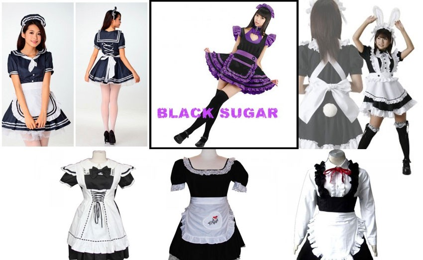 Robe maid à BLACK SUGAR