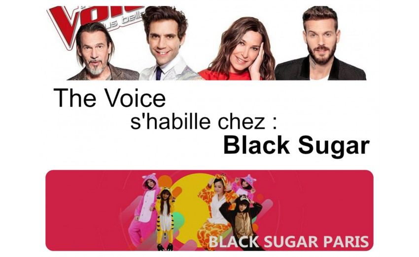 Black Sugar Paris partenaire de The Voice saison 6